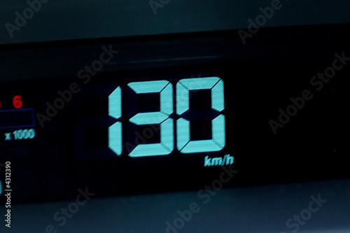 Poster 130 km/h