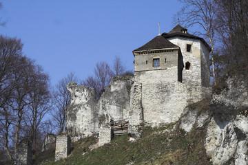 Castle - Ojcow - Poland - Malopolska - view