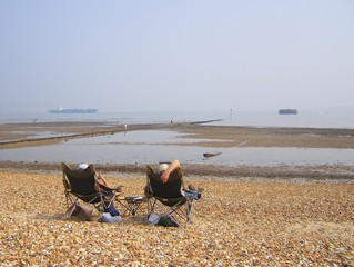Southampton Solent - Beach Chairs