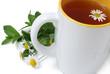 tè con camomilla e menta