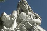 religious sculpture poster