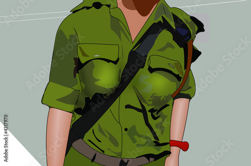 israel soldier girl