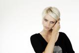 Fototapety platin blond beauty 5