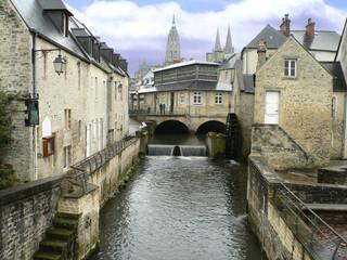 Promenade dans les rues de Bayeux