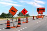 Fototapety Road construction