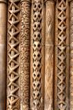 Budapest column patterns poster