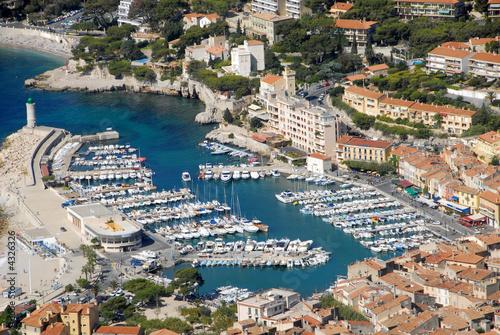 Leinwandbild Motiv Port  de Cassis