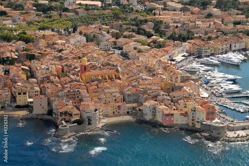 Leinwandbild Motiv - tangofox : Saint-Tropez sur mer