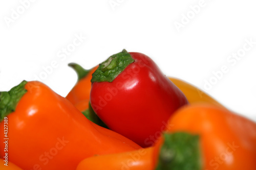 Tri Colored Peppers