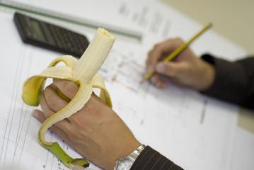 Banane in der Hand