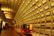 Leinwandbild Motiv Rosslyn Metro Station Near Washington DC and Georgetown