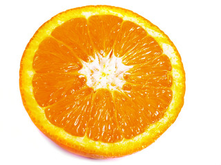 the part of orange