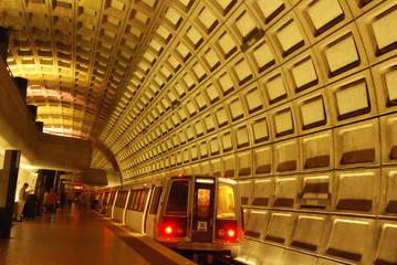 Rosslyn Metro Station Near Washington DC and Georgetown