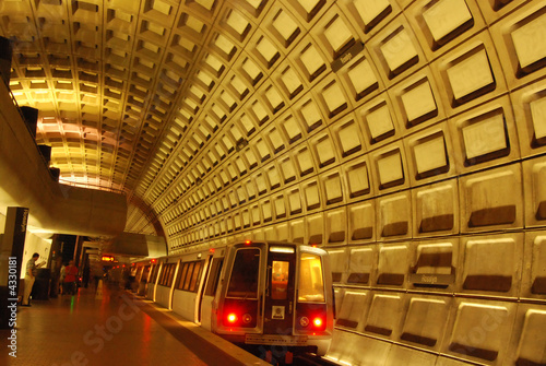 Rosslyn Metro Station Near Washington DC and Georgetown - 4330181