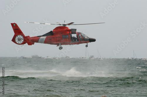 Leinwandbild Motiv USCG HH-65 Dolphin
