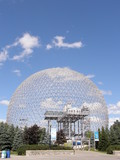 Biosphere in Montreal, Canada poster