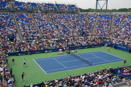 Leinwandbild Motiv us open tennis stadium