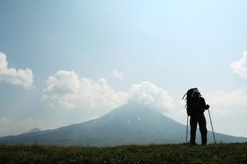 Hiking in Kamchatka