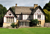 Timber Framed English Country House poster