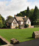 Timber Framed English Country House and Garden poster