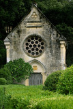 Little church in the gardens of Marqueyssac