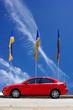 Fototapete Verkehr - Rot - Auto