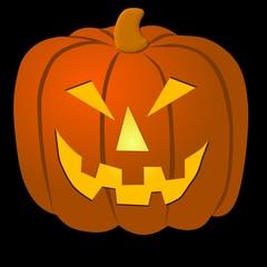 grosser halloween kürbis