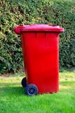 Recycling bin poster