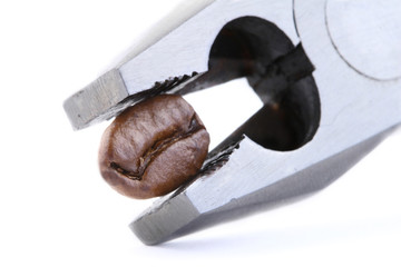 combination pliers and Single Coffee Bean
