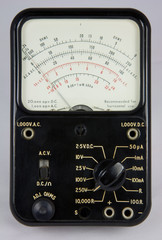 Electronics Analogue Test Meter