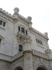 trieste - castello belvedere