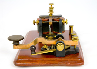 Vintage Morse Key dating from 1862