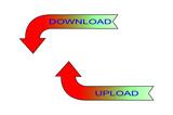 Download-upload poster