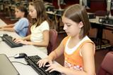 School Computer Class poster
