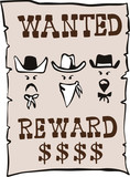 Wanted posted poster