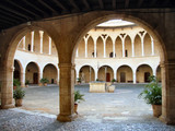 Courtyard in the Castle poster