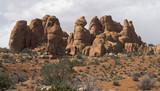 Orange Rock Cluster poster