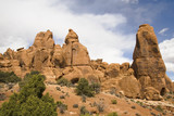 Arches Rock and Boulder Formations poster