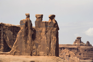 Three Gossips Rock Formation