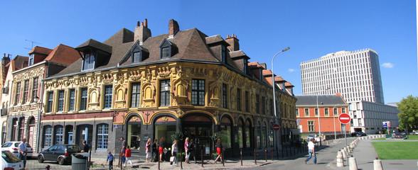 Lille - vieux Lille et tribunal