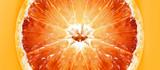 Geschlossen in der sonnigen Orange