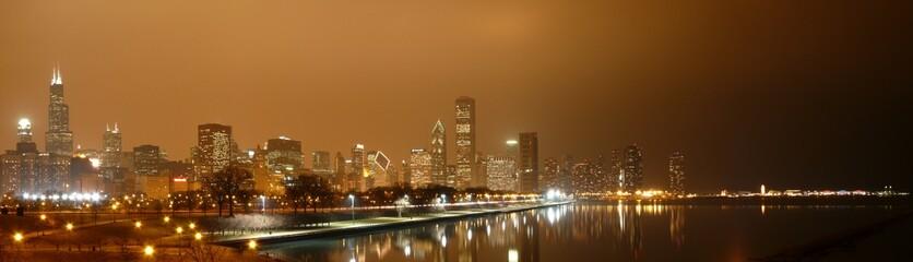 Chicago - Skyline von Aquarium