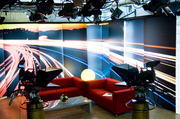 TV studio and lights 06