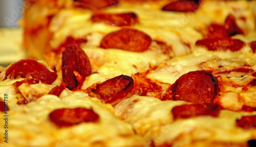 Pizza:  Cheese and Pepperoni