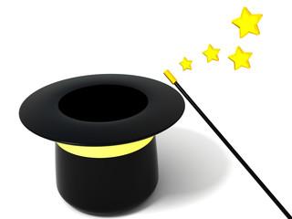 Empty magic hat