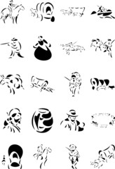 Pioneers Clipart