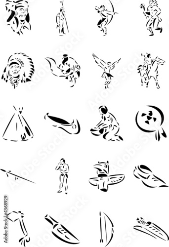 Native Indians Clipart