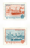 Hungarian postage stamps poster