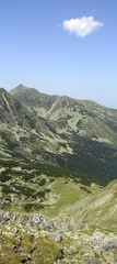 Retezat mountains in Romania