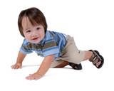 child crawling poster